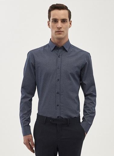Altınyıldız Classics Slim Fit Uzun Kollu Gömlek Lacivert
